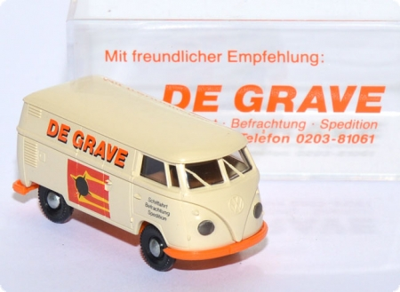 VW T1 Kasten Spedition De Grave creme