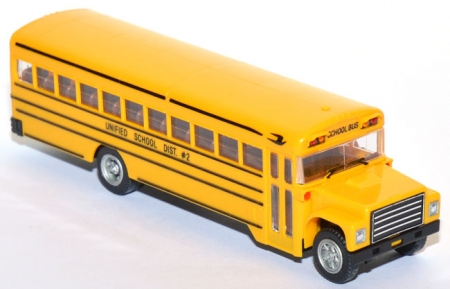 Bluebird School Bus International Chassis gelb