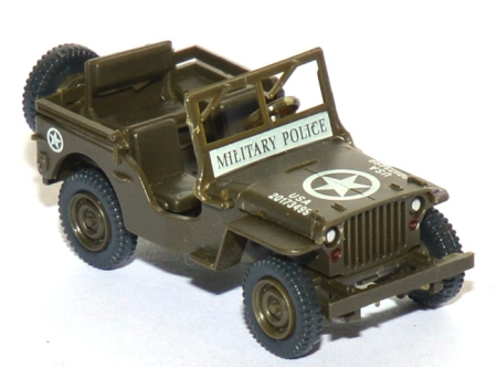Willys Jeep M38 Militär Military Police grün