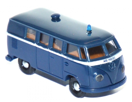 VW T1 Bus Air Police blau