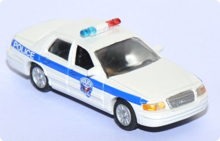 Ford Crown Victoria U.S. Amtrak Police Polizei weiß