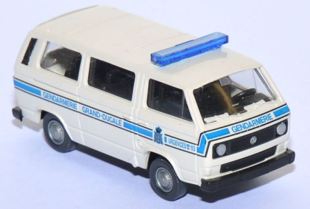 VW T3 Bus Gendarmerie Grand-Ducale Luxemburg Polizei