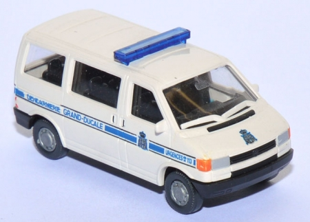 VW T4 Bus Gendarmerie Grand-Ducale Luxemburg Polizei