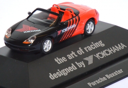 Porsche Boxster 986 Yokohama - the art of racing designd by Yokohama