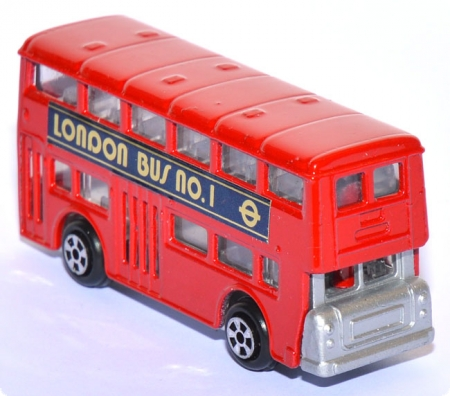 London Bus No. 1 rot