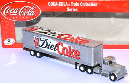 Kenworth With 45 ft Trailer Diet Coke - Coca-Cola rot