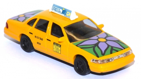 Ford Crown Victoria NYC Taxi Flower Power 49032