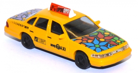 Ford Crown Victoria NYC Taxi Flower Power 49030