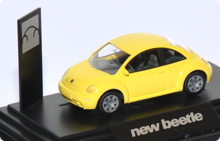 VW New Beetle 1 hellblassgelb