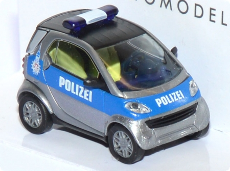 Smart City Coupé Polizei Hamburg blau 48929