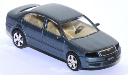 Skoda Superb blaumetallic