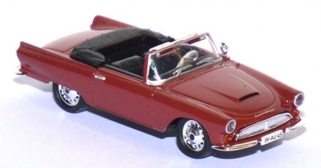 Auto Union 1000 SP Cabriolet weinrot