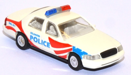 Ford Crown Victoria Coldwater Police