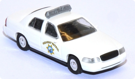 Ford Crown Victoria Calofornia Highway Patrol Police