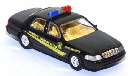 Ford Crown Victoria Wyoming Highway Patrol Police