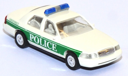 Ford Crown Victoria Greenbelt Police