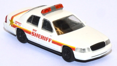 Ford Crown Victoria NYC Sheriff Police