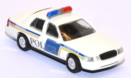 Ford Crown Victoria Orlando Police Supervisor 148