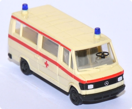 Mercedes-​Benz 207 D Bus DRK creme