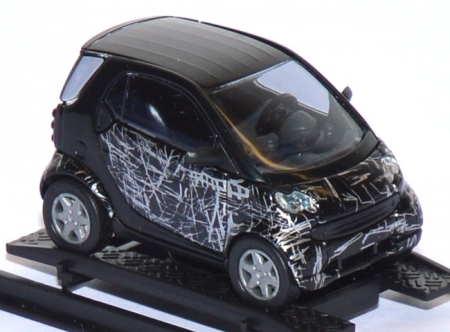 Smart City Coupé Fortwo Scratch Black 48996