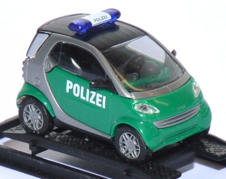 Smart City Coupe Polizei grün 48919