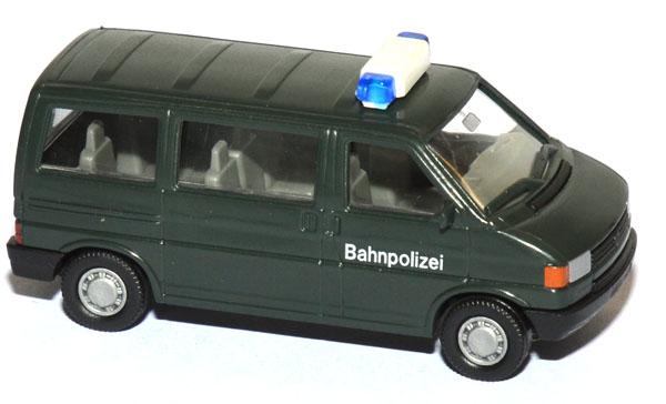 shop f r gebrauchte modellautos vw t4 bus caravelle bahnpolizei gr n. Black Bedroom Furniture Sets. Home Design Ideas