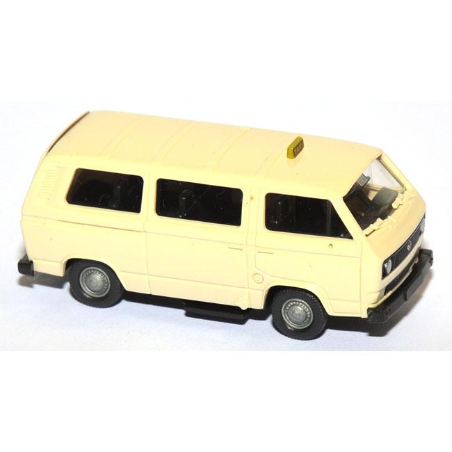 shop f r gebrauchte modellautos vw t3 bus taxi elfenbein. Black Bedroom Furniture Sets. Home Design Ideas