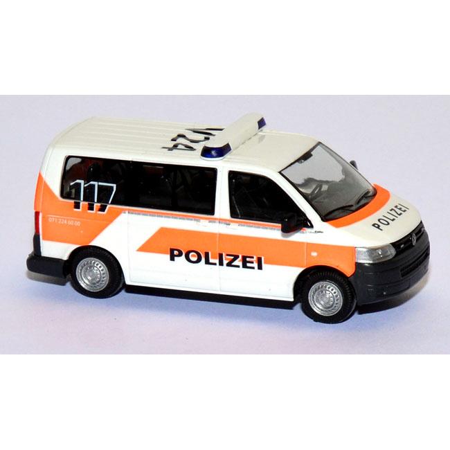 shop f r gebrauchte modellautos vw t5 bus polizei schweiz. Black Bedroom Furniture Sets. Home Design Ideas