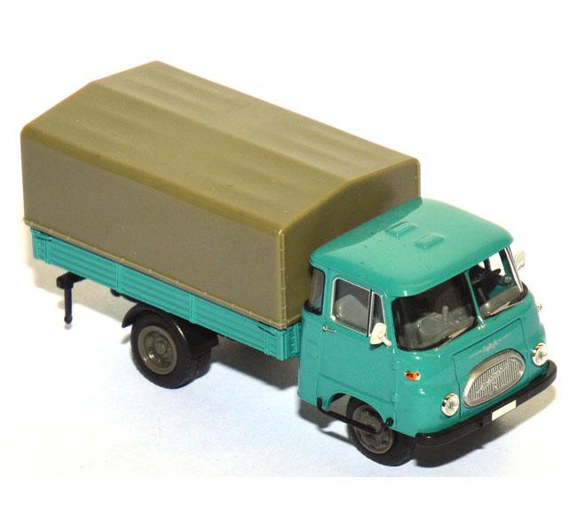 shop f r gebrauchte modellautos robur lo 2500 pritschen lkw mit plane t rkisblau. Black Bedroom Furniture Sets. Home Design Ideas