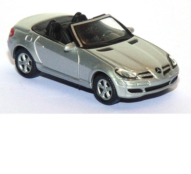 shop f r gebrauchte modellautos mercedes banz slk 350 cabrio silber. Black Bedroom Furniture Sets. Home Design Ideas
