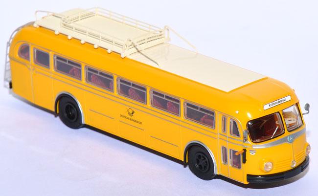 Brekina 1//87 serie 2 mercedes benz o 321 H /& o 6600 h deutsche post OVP #4759