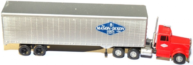 Kenworth Truck Tractor with 40` Trailer Mason-Dixon