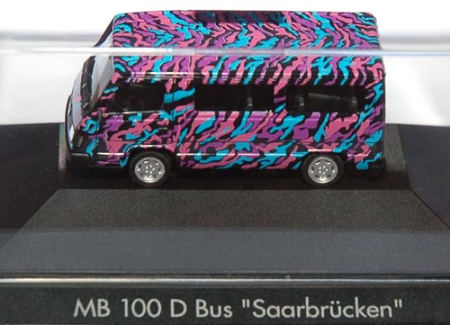 shop f r gebrauchte modellautos mercedes benz 100 d bus saarbr cken. Black Bedroom Furniture Sets. Home Design Ideas