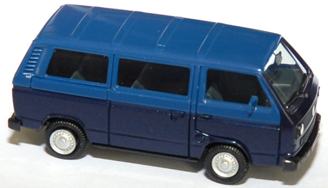 shop f r gebrauchte modellautos vw t3 bus zweifarbig blau. Black Bedroom Furniture Sets. Home Design Ideas
