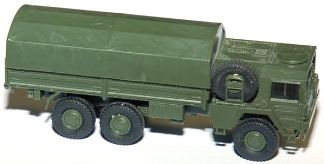 shop f r gebrauchte modellautos man pritschen lkw mit plane 6x6 armee milit r. Black Bedroom Furniture Sets. Home Design Ideas
