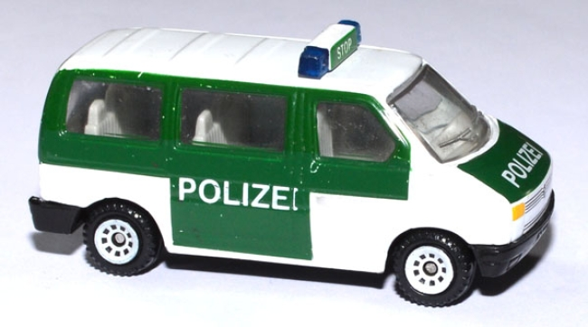 shop f r gebrauchte modellautos vw t4 bus caravelle polizei. Black Bedroom Furniture Sets. Home Design Ideas