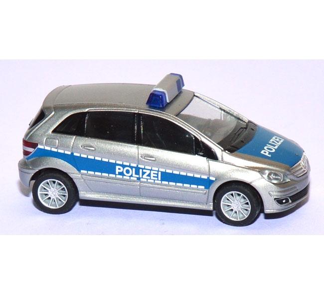 shop f r gebrauchte modellautos mercedes benz b klasse polizei blau. Black Bedroom Furniture Sets. Home Design Ideas