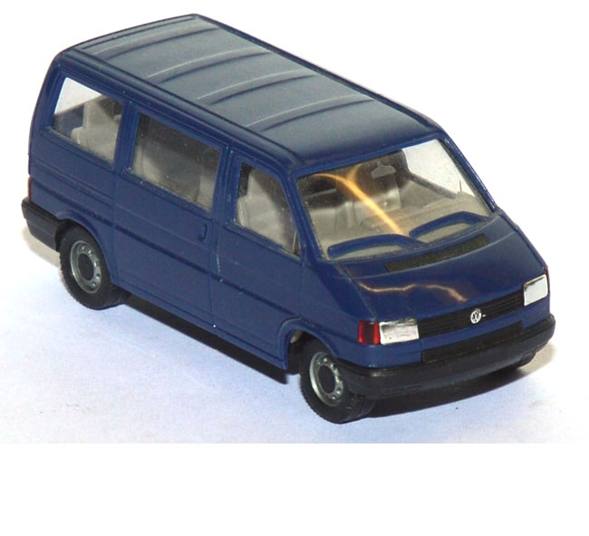 shop f r gebrauchte modellautos vw t4 caravelle bus blau. Black Bedroom Furniture Sets. Home Design Ideas