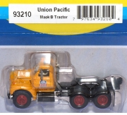 Mack B Tractor, UP Union Pacific Solozugmaschine gelb