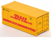 Container 20 ft. Deutsche Post DHL gelb