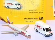 DHL Edition Mercedes-Benz Sprinter + Boeing 757