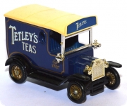 Ford Model T Van Kasten Tetley Tea-Bags blau