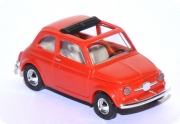 Fiat Nuovo 500 F Dach offen rot 48700