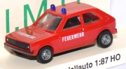 VW Polo Feuerwehr rot
